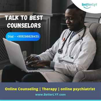 Online Counselling  Psychologist  Online Therapy in USA  BetterLYF