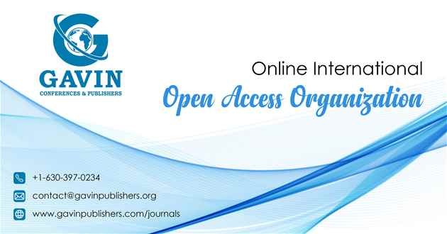 Peer Reviewed Open Access Scholarly Publisher in USA  Gavin Publishers
